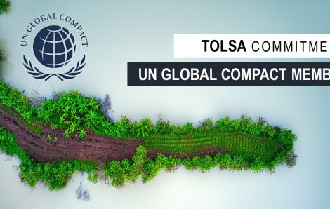 AT TOLSA WE ARE PROUD TO BE MEMBERS OF THE UN GLOBAL COMPACT