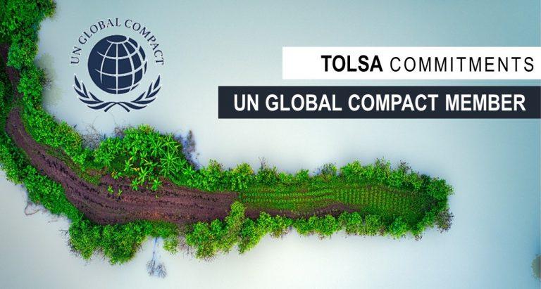 TOLSA EN EL PACTO MUNDIAL DE NACIONES UNIDAS. COMPROMISOS