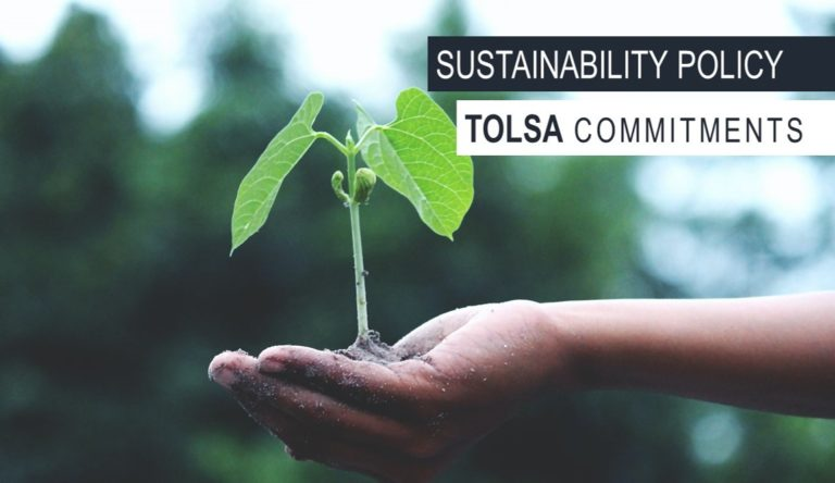 SUSTAINABILITY POLICY AND COMMITMENTS. POLITICA DE SOSTENIBILIDAD Y COMPROMISOS