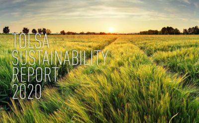 Nous présentons notre premier rapport de développement durable