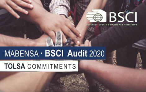 """MABENSA TOLSA, calificación """"A"""" en la auditoría BSCI"""